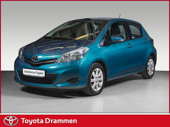 Toyota Yaris 1,33 Active  2012, 39800 km, kr 139000,-