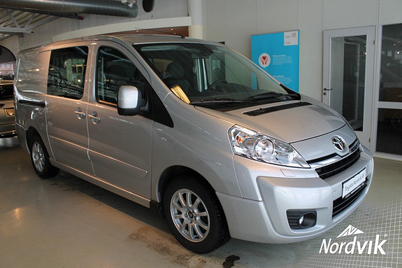 Toyota Proace 2,0 128hk L2H2 med Smartfloor  2015, 6252 km, kr 249000,-