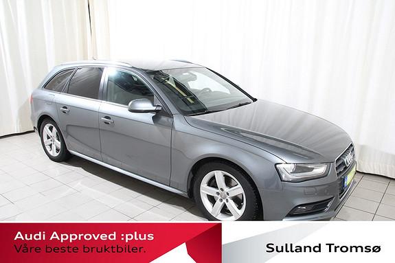 Audi A4 Avant 2,0 TDI 177hk quattro Navi/Sportspk/Sort.Taktrekk