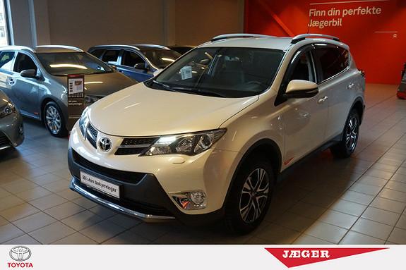 Toyota RAV4 2,0 D-4D 4WD Active  M. DAB+ og 4WD  2014, 53000 km, kr 339000,-