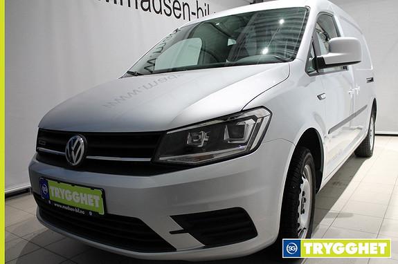 Volkswagen Caddy Maxi 2,0 TDI 122hk 4Motion WEBASTO, KROK, BLUETOOTH, RYGGEKA
