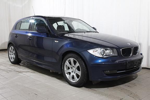 BMW 1-serie 116d Xenon-EL.Seter-Sportsseter-Navi-PDC-Blåtann-Hifi