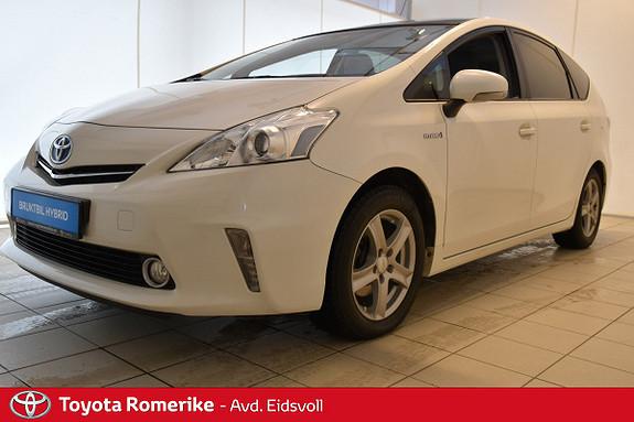 Toyota Prius+ Seven 1,8 VVT-i Hybrid Executive Skyview 7 seter! Garanti!  2012, 87140 km, kr 239000,-