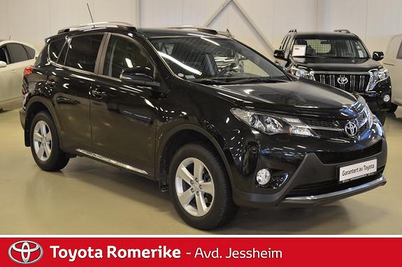 Toyota RAV4 2,0 D-4D 2WD Active  2014, 53200 km, kr 289000,-