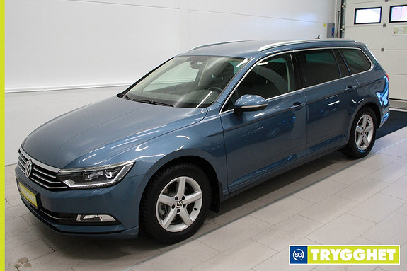 Volkswagen Passat 1,6 TDI 120hk Comfortline DSG LED,webasto,DAB+,tlf,