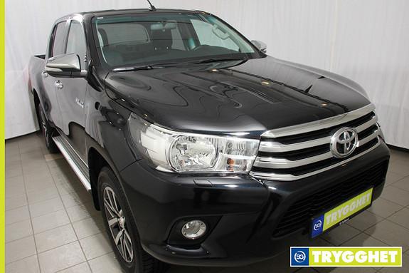 Toyota HiLux D-4D 150hk D-Cab 4WD SR 1T aut Ny modell