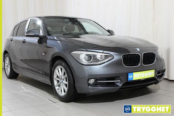 BMW 1-serie 118i 170hk bensin, 1 eiers bil, solgt ny på Gjøvik