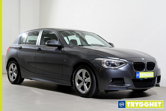 BMW 1-serie 116d EfficientDynamics -Moptikk-DAB+-Bluetooth-Norsk++