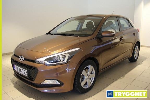 Hyundai i20 1,2 84hk Intropakke Demobil / Som Ny!