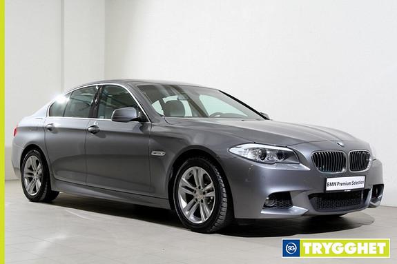 BMW 5-serie 520d Automat -Mpakke-Navigasjon-Xenon-Norsk-DAB++