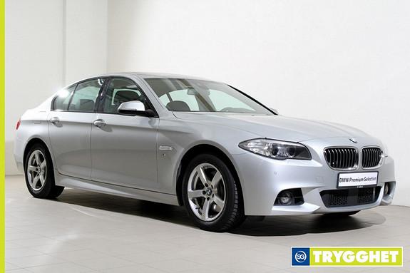BMW 5-serie 530d xDrive Automat -Mpakke-Navi-HUD-DAB+-Soltak+++