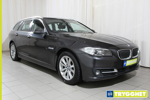 BMW 5-serie 520d xDrive 163hk Advantage Edition aut. H.feste,dab,cruice m.stop and go,navi +++