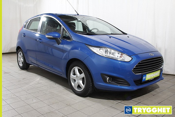 Ford Fiesta 1,6 TDCi 95hk Titanium Econetic-Norsk-DAB-oppv.frontr
