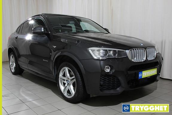 BMW X4 xDrive20d 163hk aut Msport,Soltak,hengerf.,navi,ryggeka