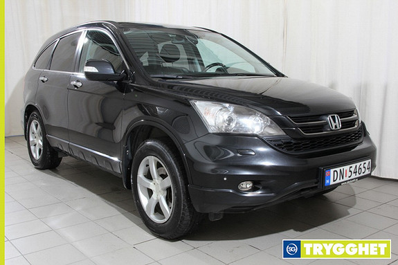 Honda CR-V 2,2 Executive Advance Skinn,hengerfeste,soltak,