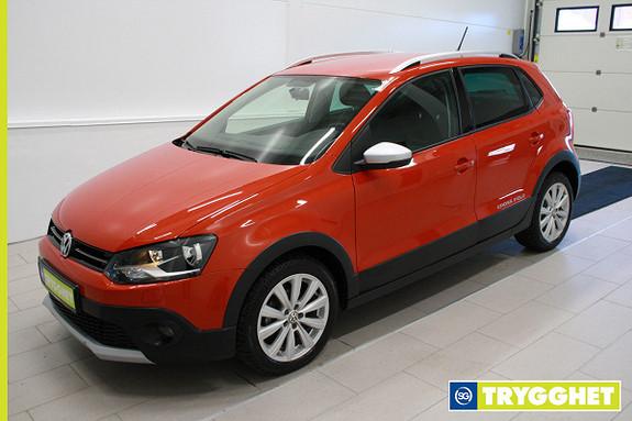 Volkswagen Polo 1,2 75hk TDI Cross ,Klima,cruise,DAB,mørke ruter,