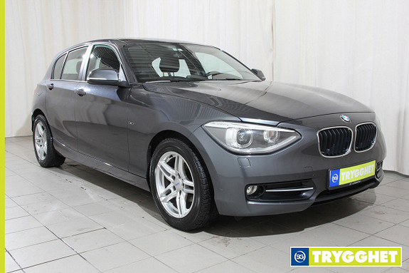 BMW 1-serie 116d Sport line, dab+, 1 eiers bil, ny i Norge