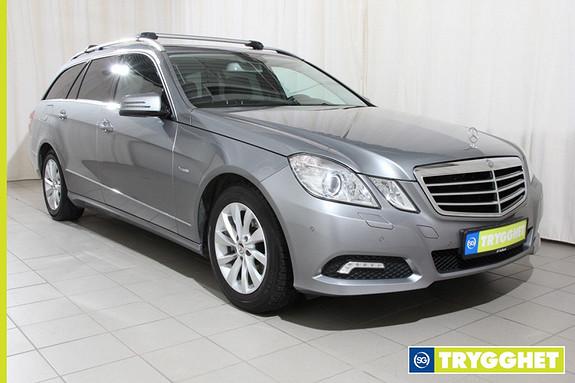 Mercedes-Benz E-Klasse E200 CDI Avantgarde Plus aut. el.bakluke,navi,hengerf.