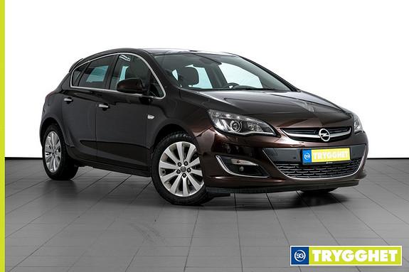 Opel Astra 1,4 Turbo 140hk aut Cosmo EN EIER-KOMPLETT HISTORIKK-PROPPFULL AV UTSTYR-AUTOMATGIR