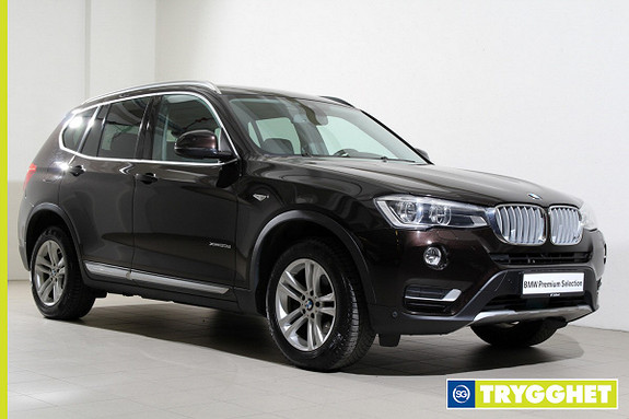 BMW X3 xDrive20d 163hk aut -Navi-DAB+-HiFi-Kamera-Norsk++