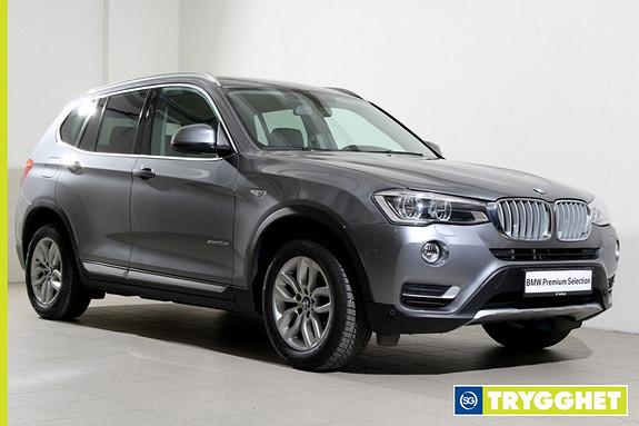 BMW X3 xDrive20d 163hk aut NAVI-LED-DAB+-KAMERA-NORSK++