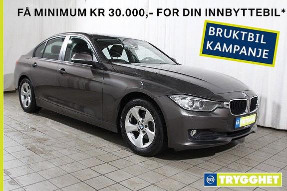 BMW 3-serie 320d aut NAVI-HeadUp-Skiltleser-oppv.ratt-bluetooth etc
