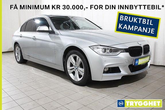 BMW 3-serie 320d Automat Norsk-Skinn-DAB-Oppv ratt-Bluetooth-PDC
