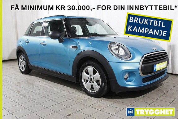 MINI One D 5dørs-DAB-Cruisectr-Blutooth-Pepper-Exitement-PDC-etc