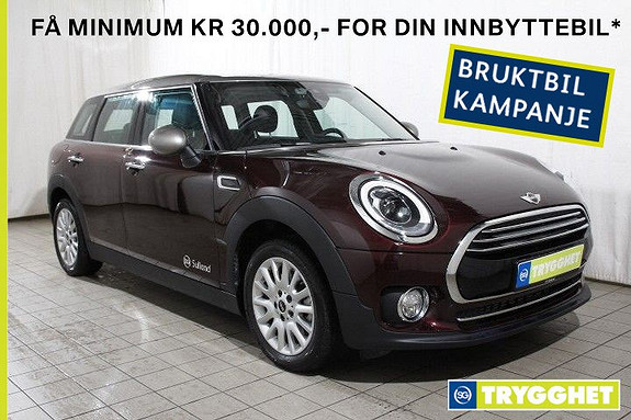 MINI Clubman Cooper AUTOMAT Norsk-LED-PDC-DAB-Bluetooth-active guard