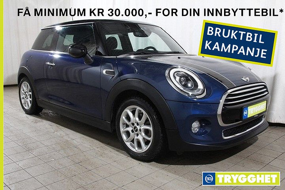 MINI Cooper D Norsk-Ad.Cruise-Ad LEDlys-DAB-PDC-Bluetooth-17