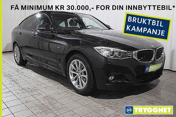 BMW 3-serie 320dA GT  M.sport-oppv.ratt-h.feste-fj.lysaut-Nav-DAB-X