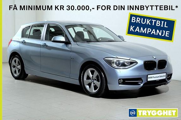BMW 1-serie 116d EfficientDynamics Bluetooth-DAB-PDC-X-sportseter