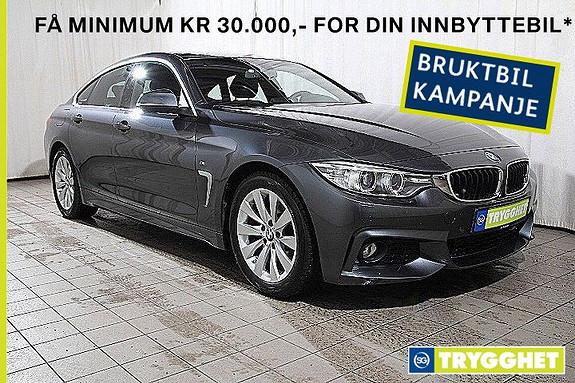 BMW 4-serie 420dA Gran Coupe MSport-Skinn-DAB-Solt--Ad.X-oppv.ratt
