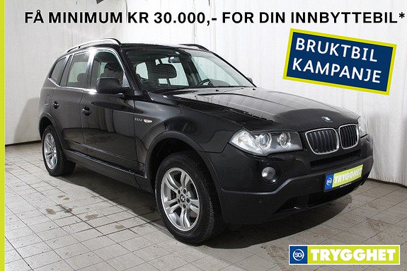BMW X3 20d Aut Norsk-X-PDC-Comfortpk-sportsseter-delskinn-etc