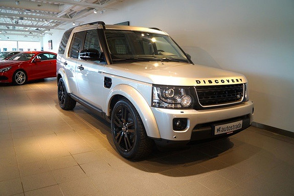 Land Rover Discovery 3,0 SDV6 HSE Black Pack Fullutstyrt