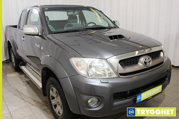 Toyota HiLux D-4D 120hk X-Cab 4wd SR5 Alle servicer fulgt