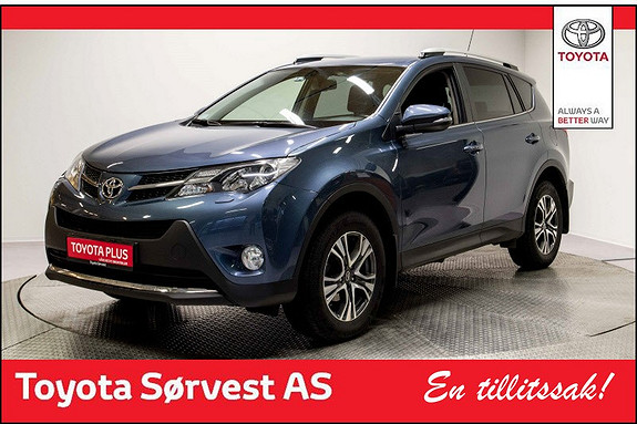 Toyota RAV4 2,0 D-4D 4WD Active  2014, 45997 km, kr 329000,-