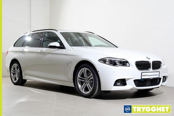 BMW 5-serie 520d xDrive Touring 190hk aut Mpakke-NAVI-DAB+HUD++
