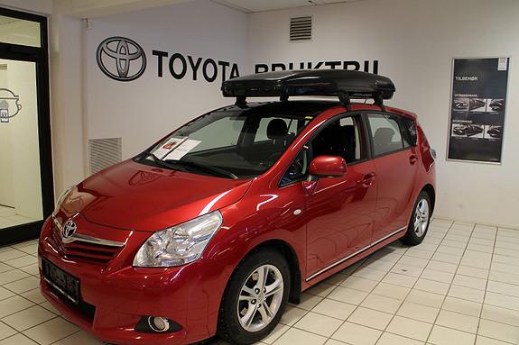 Toyota Verso Executive Baksete underholdniing, fjernstyrt d.varmar++  2011, 80000 km, kr 199000,-