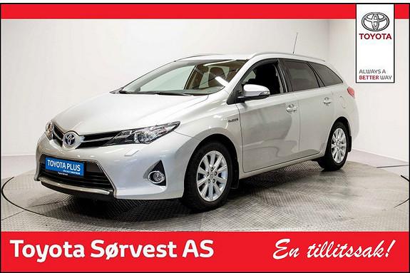 Toyota Auris 1,8 Hybrid E-CVT Active+ Fin stand, DAB+, Navi  2015, 38875 km, kr 249000,-