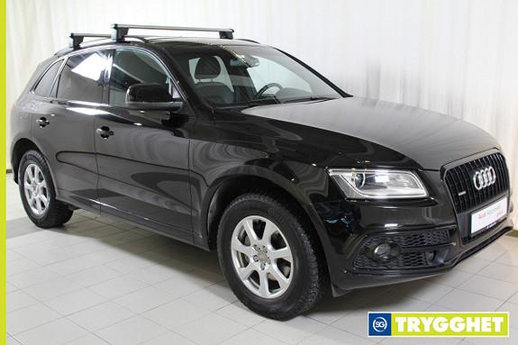 Audi Q5 2,0 TDI 163hk quattro S tronic Black Edition! Park.varm