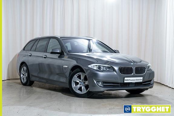 BMW 5-serie 520d Touring 163hk Sportsautomat Skinn Navi HF Akt.sete