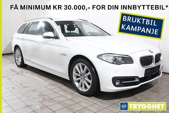 BMW 5-serie 520dAT xDrive Norsk-Skinn-Act.cruis-Navi-DAB-Dieselv-HF