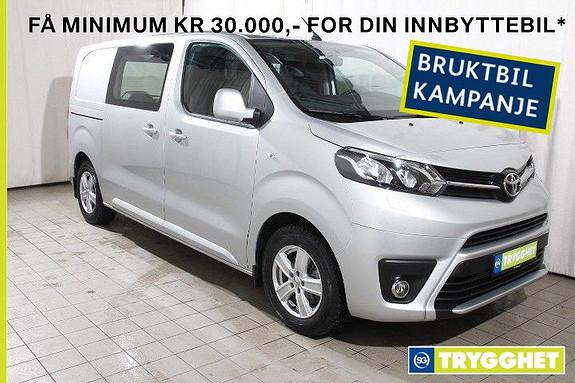 Toyota Proace 1,6 D 115 Comfort Medium L1H1 Demobil!-Nybilgaranti-DAB