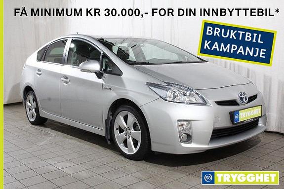 Toyota Prius 1,8 VVT-i Hybrid Advance En eier-DAB+-Kompl. service