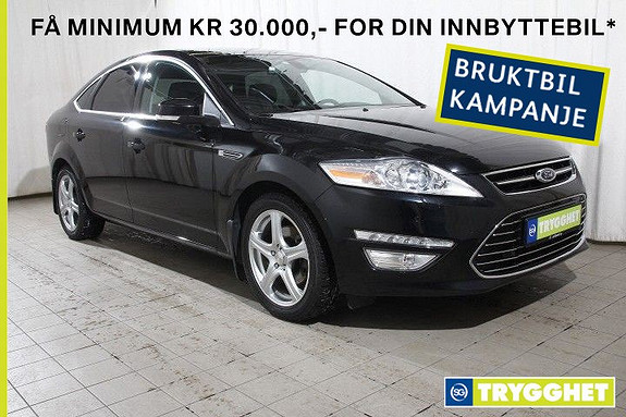 Ford Mondeo 2,0 TDCi 140hk ECO Premium Aut. Keyless-Cruise-Skinn+++