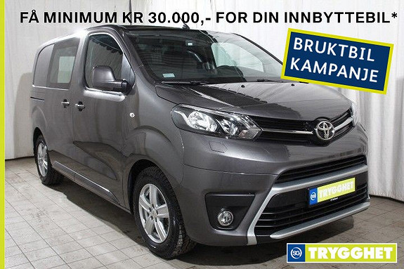 Toyota Proace 1,6 D 95 Basic Compact L0H1 Demobil-Ny modell-HF