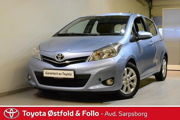 Toyota Yaris 1,33 Style , MOTORVARMER / NAVIGASJON M.M.,  2013, 76000 km, kr 129000,-