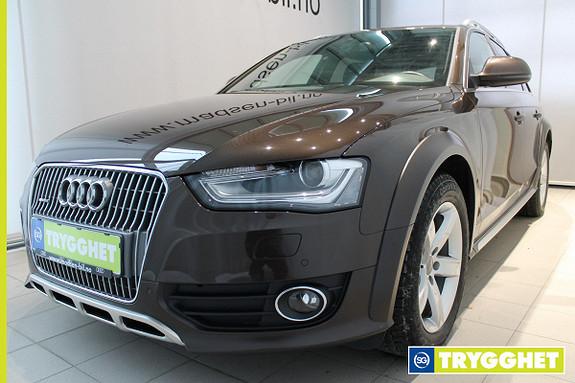 Audi A4 allroad 2.0 TDI 177hk quattro S tronic HELSKINN, WEBASTO, NAVI,