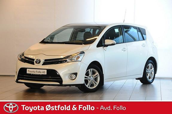Toyota Verso 1,8 VVT-i Executive Multidrive S 7s Automat/Ryggekamera  2013, 67334 km, kr 239000,-